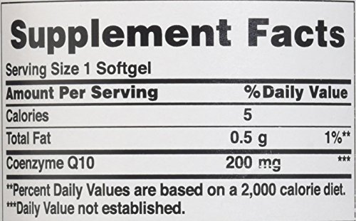 Puritans Pride Q-Sorb Co Q-10 200 Mg Rapid Release Softgels, 240 Count by Puritan's Pride (Image #1)