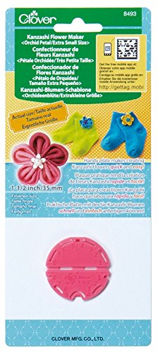 - Clover Kanzashi Flower Maker - Orchid Petal Extra Small Size 1.5
