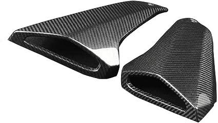 MT09 //FZ-09//MT-09 Carbon Fiber Side Tank Air Tube Intake Inlet Ram Tube Scoop Cover Fairings SBest Yamaha FZ09