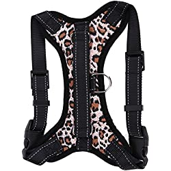 Comfortable Harness Pet Medium Large Dog Soft Adjustable Harness Pet Walk Out Hand Strap Vest Collar
