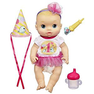 Amazon Com Baby Alive Party Baby Doll Toys Amp Games
