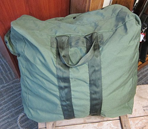 USGI Flyers Kit Large Duffle Bag Olive Drab Green Army Surplus Made in USA