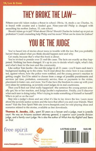 They Broke the Law―You Be the Judge: True Cases of Teen Crime