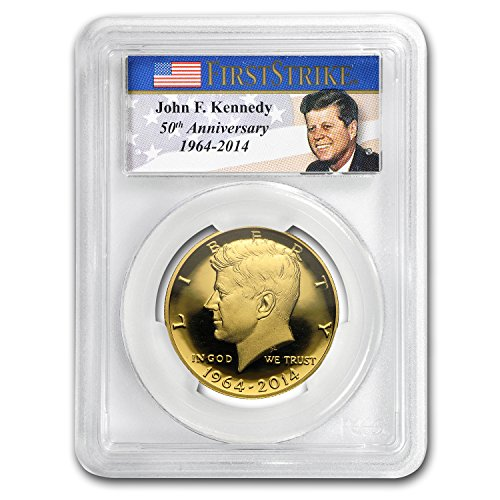 Kennedy Gold Half Dollar - 7