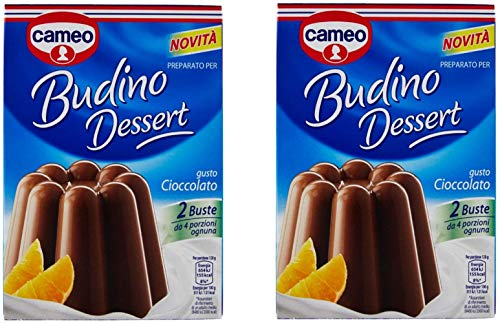 Cameo Pudding Desert Chocolate Flavor 200g (Pack of 2)