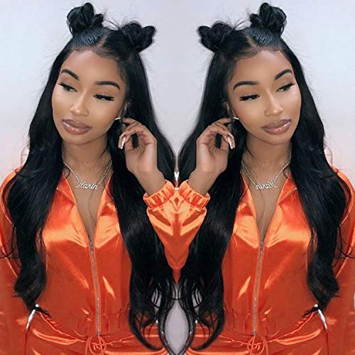 Fyonas Hair Long Wavy Lace Front Wigs for