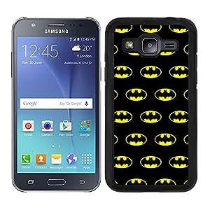 Funda carcasa para Samsung Galaxy J5 estampado Batman superhéroe borde negro
