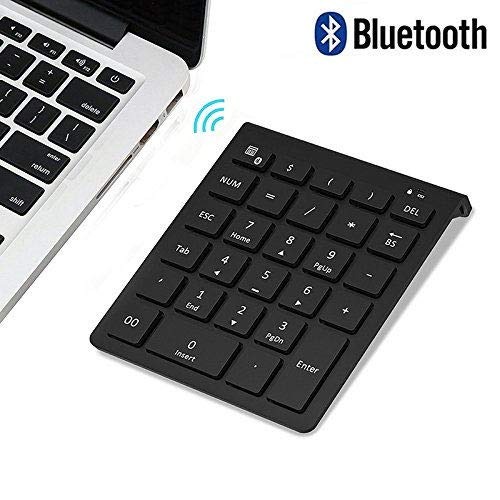 Bluetooth Number Pad, Lekvey Portable Wireless Bluetooth 28-