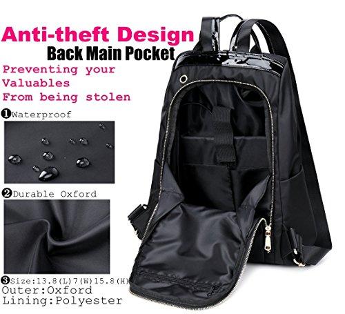 Mochilas Bolso Antirrobo Mujer Mochila Escolar Casual Backpacks Laptop Colegio Bolso Chicas USB Charging Port Mochila Impermeable para Viaje Bolsa Escuela ...