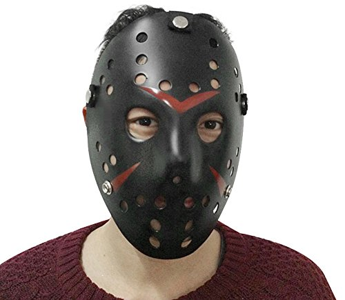 Lovful Cosplay Costume Mask Halloween Party Cool Mask,Black,One Size -