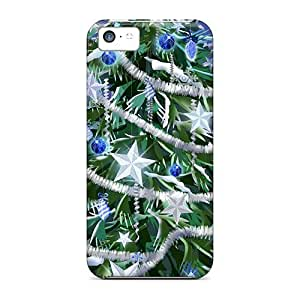 MMZ DIY PHONE CASEBeautiful Dressed Christmas Tree Case Compatible With iphone 6 plus 5.5 inch/ Hot Protection Case