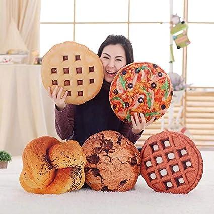 Amazon.com: Cojín de peluche para sofá de galletas y ...