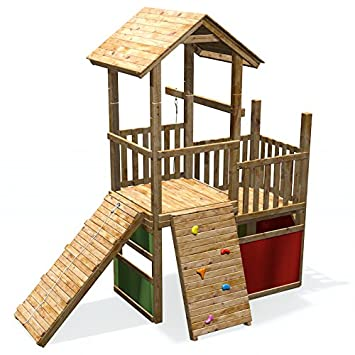 spielturm kinder garten with spielturm kinder garten affordable holz hohes offenes rutsche. Black Bedroom Furniture Sets. Home Design Ideas