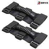 Automotive : ORYX AUTO Roll Bar Grab Handles 2 Pack For Jeep Wrangler CJ YJ TJ LJ JK JL - Premium Quality Roll Bar Accessories