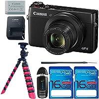 Canon PowerShot G7 X Digital Camera + I3ePro Basic Accessory Bundle - International Version Basic Facts Review Image