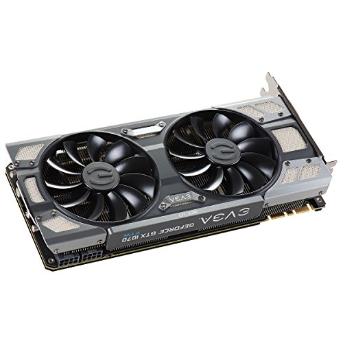 EVGA GeForce GTX 1070 FTW GAMING ACX 3.0, 8GB GDDR5, RGB LED, 10CM FAN, 10 Power Phases, Double BIOS, DX12 OSD Support (PXOC) Graphics Card 08G-P4-6276-KR by EVGA (Image #5)