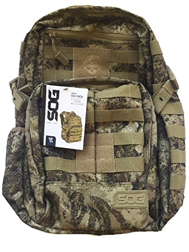 SOG Ninja Tactical Daypack Backpack Desert Camo Molle
