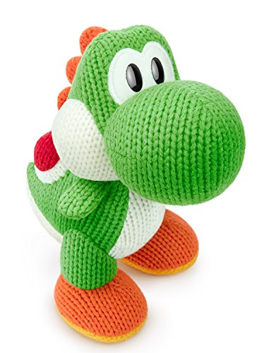Green Yarn Big Yoshi Amiibo - Wii U (yoshi Woolly World) [Japan Import]