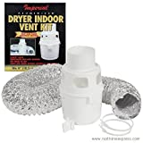 4'' x 5' Aluminized Indoor Dryer Vent Kit