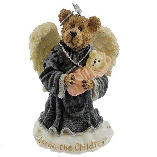 (Boyds Bears Resin Charity Angelhug & Everychild Exclusive Bearstone - Resin 4.00)