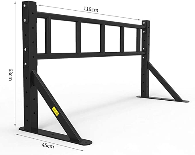 Barra Horizontal, montado en la Pared Ejercicio del músculo Family Fitness Escalera Horizontal de Fitness Color -Negro, Tamaño - 108 * 63 * 45cm: Amazon.es: Deportes y aire libre
