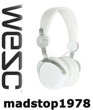 Auriculares WESC Bass White Casco Urban Style