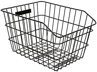 "Sunlite Rack Top Wire Basket, 13 x 16 x 8"", Black"