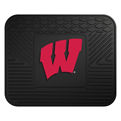 FANMATS NCAA University of Wisconsin Badgers Vinyl Utility Mat