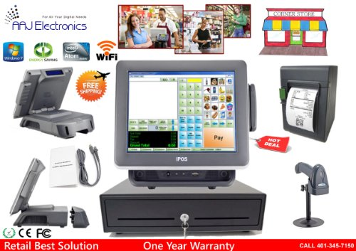 All In One Point Of Sale Complete System With Corner Store Pos  Retail