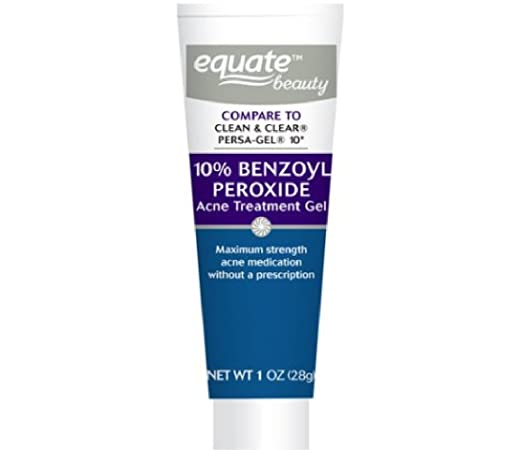 Amazon Com Equate 10 Benzoyl Peroxido De Acne Tratamiento De