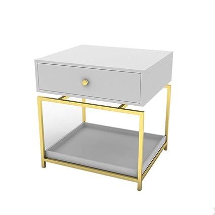 Amazon.com: ZQZ Nightstand Bedside Table-Nightstand Drawer ...