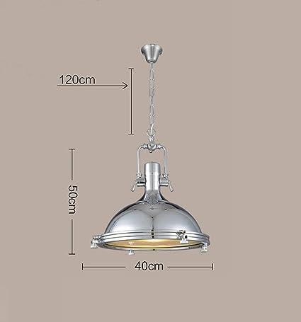 Nordic American Retro Lámparas De Billar Personalidad Creativa ...