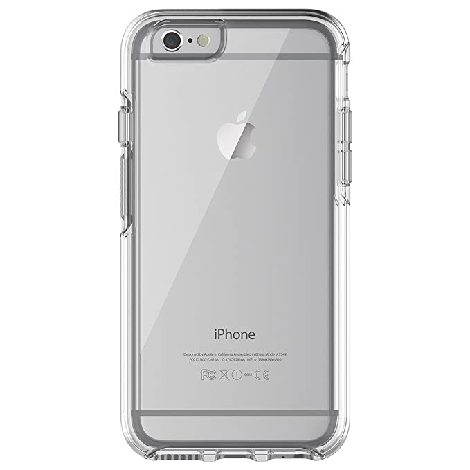 Amazon.com  NEW OtterBox SYMMETRY CLEAR SERIES Case for iPhone 6 6s ... bca5c81057