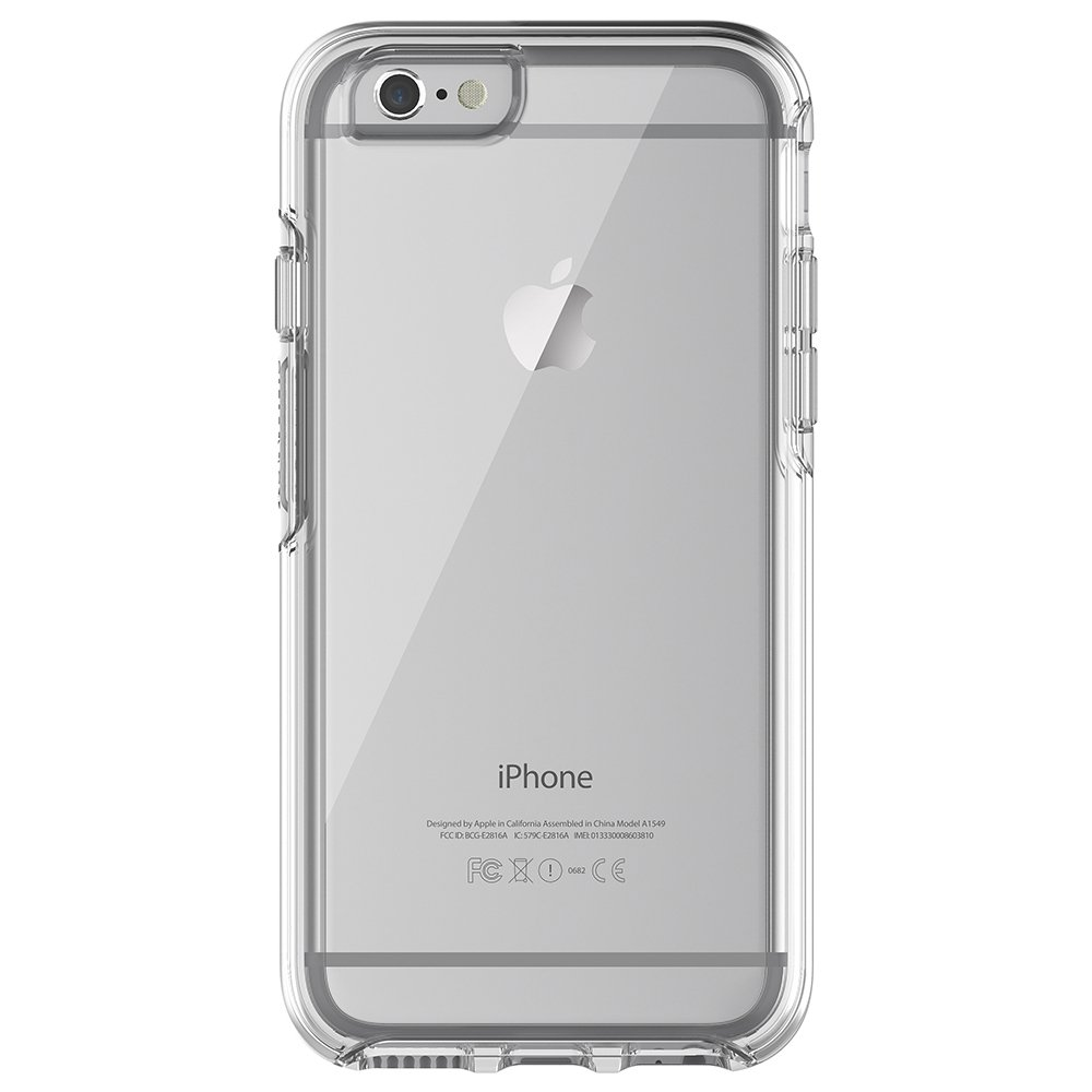 OtterBox SYMMETRY CLEAR SERIES Case for iPhone 6/6s (4.7'' Version) - CLEAR (CLEAR/CLEAR)