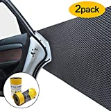 Car Door Protector Bump Body Guard,2 Pack Foam Sticking Garage Wall Parking Protector Collision Avoidance Waterproof Foam Protector Wall Corner Protecting Your Car Doors (2 packs in one roll)