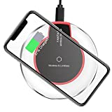 Wireless Charger, SZBYX Wireless Charging Pad QI for Apple iPhone 8/8 Plus, iPhone X, Samsung Note 8, S8/S8 Plus/S7/S7 Edge/S6, Nexus 7/6/5/4(2013), Nokia Lumia 920, LG Optimus Vu2, Wireless Charger