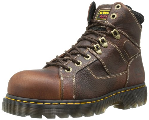 Dr. Martens Hombres Ironbridge Wide St Work Bota Teak