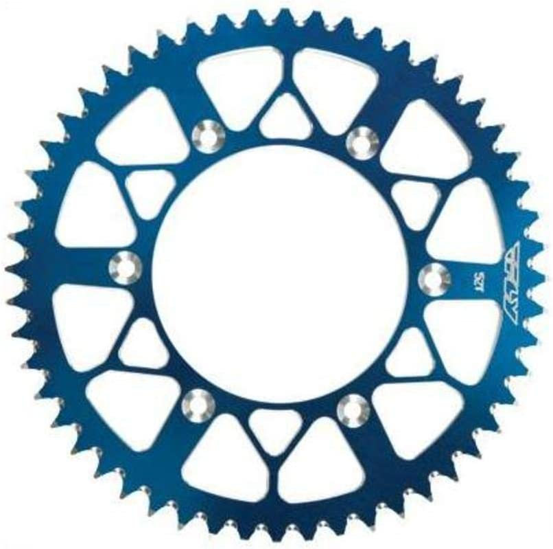 Fly Racing Aluminum Rear Sprocket 52T Blue