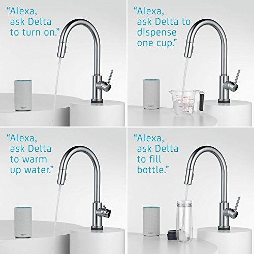 Delta Trinsic Alexa Enabled Kitchen Faucet Deals Coupons Reviews