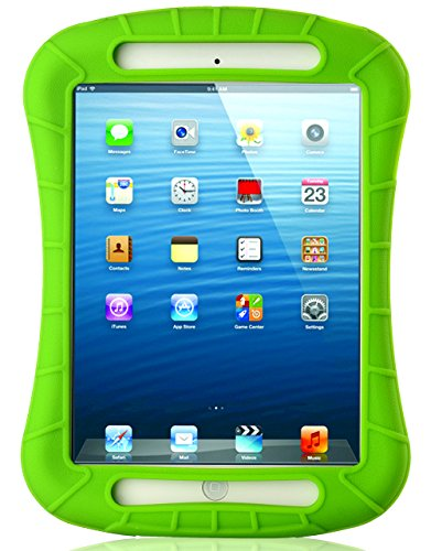 iPad Mini Case, iXCC Shockproof Silicone Protective Case Cover for iPad Mini, Mini 2, Mini 3 and iPad Mini Retina Models - Green