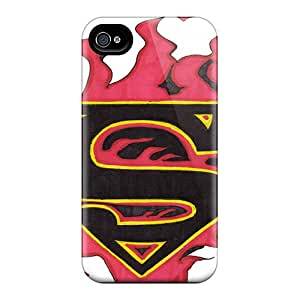 Sdcruz Design High Quality Superman Sign Cover Case With Excellent Style For Iphone 4/4s