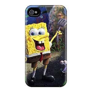 JessieHValdez Premium Protective Hard Case For Iphone 4/4s- Nice Design - Spongebob Cartoon