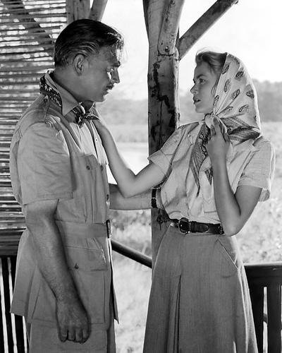 Mogambo Featuring Clark Gable, Grace Kelly 8x10 Promotional Photograph