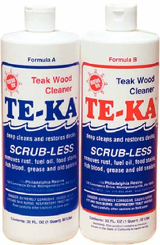 Marine Tex RM341K Te-Ka Teak Cleaner 1/2 Gl Ki Made by Ma...