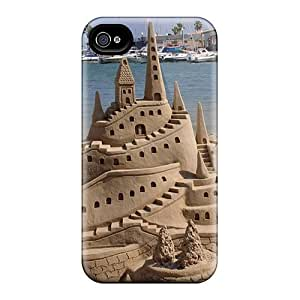 New Arrival Premium 6 Cases Covers For Iphone (sand Castle)