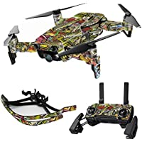 MightySkins Skin for DJI Mavic Air Drone - Fish Puzzle   Max Combo Protective, Durable, and Unique Vinyl Decal wrap cover   Easy To Apply, Remove, and Change Styles   Made in the USA