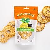 NatureBox Non-GMO Dried Pineapple Rings - Unsweetened (5 bags X 4.5 oz)