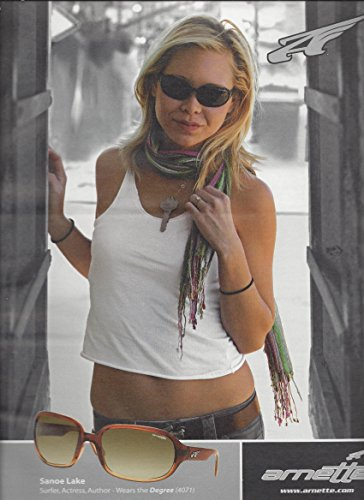 **PRINT AD** With Sanoe Lake For Arnette Degree Sunglasses Large **PRINT - Arnette Sunglasses Sale