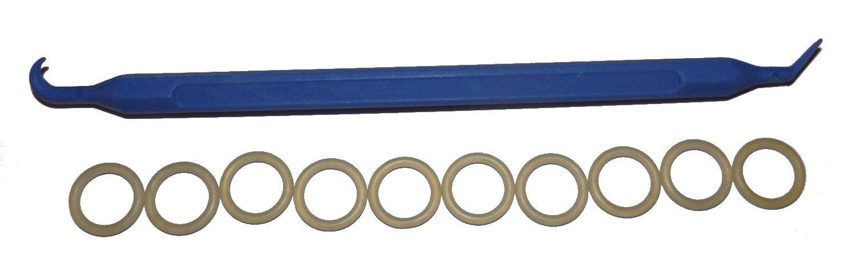 SCUBA Standard 7//16 UNF High Pressure Port 10 pcs Bonus O-Ring Pick Hose Manifold POLYURETHANE 012 O-Ring