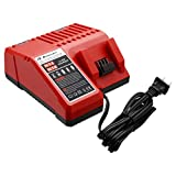 Powerextra M18 Lithium-ion Battery Charger for Milwaukee M18 48-11-1815 M18 Charger